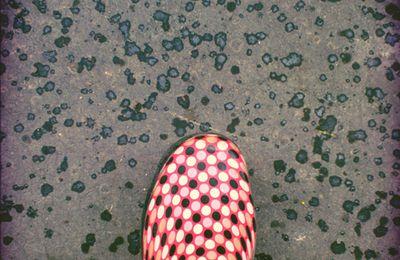 Goutes de pluie et petits pois