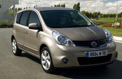 2008 Nissan Note, nouveau regard : 4,5