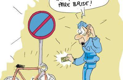 DANS PARIS A VELO....