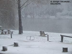 Mardi il a neigé...