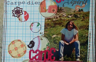 Challenges Scrapbooking Day sur le Forum Bulle 2 Scrap ... part 3