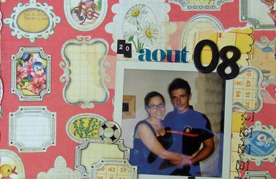 Challenges Scrapbooking Day sur le Forum Bulle 2 Scrap ... part 2