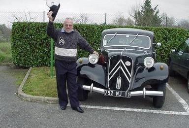 Voitures anciennes Citroën