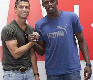interview Cristiano Ronaldo / Usain Bolt