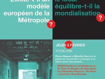 > Question Vive de l'AIGP: « Existe-t-il un modèle européen de la Métropole? Comment le local équilibre-t-il la mondialisation? »