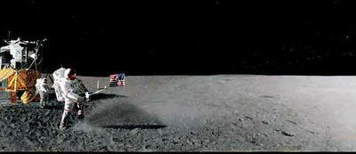 Golf on the Moon.