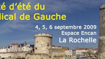 PRG: Université d'été 2009 à La Rochelle