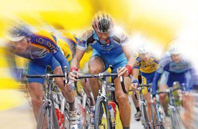 Mitterrand et Joyandet sur le Tour de France de Colmar à Besançon