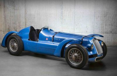 BONHAMS AU GRAND PALAIS VOITURES DE COURSE AUTODROME
