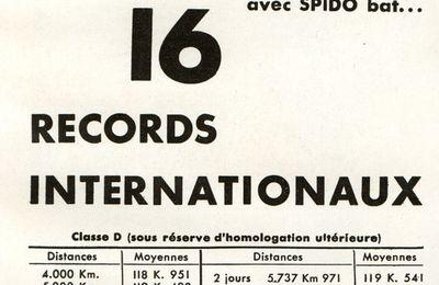 Recherche infos sur Citroën Spido des records