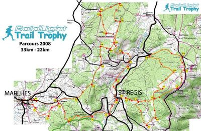 Carte Raidlight Trail Trophy 2009