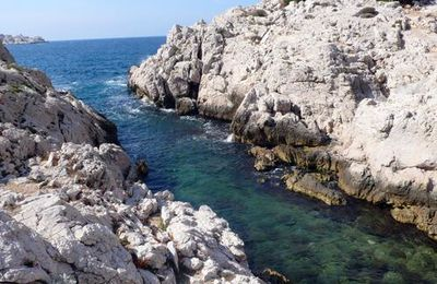 Calanques Callelongue, Mounine, Marseilleveyre .....