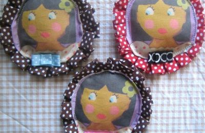 broches personnages artisanales