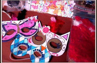 masques pour carnaval venitien