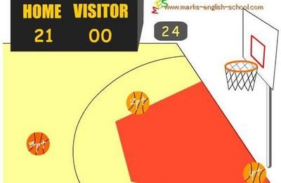 Comparatives : a basketball game !