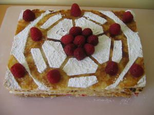 millefeuilles framboises