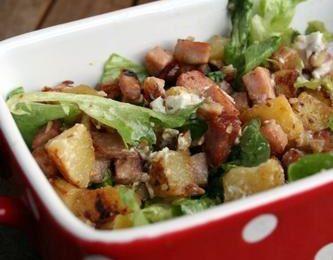 Salade pas tout à fait vosgienne