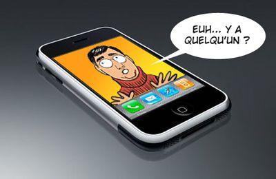 Philippe de la Fuente est dans l'Iphone !