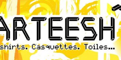 Teeshirts UP dispo sur ARTEESH.com