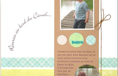 scrap famille: page Clean & Simple