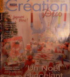 """le magazine """"création passion maison """" ."""