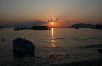 Corniche de Tamaris au lever du soleil