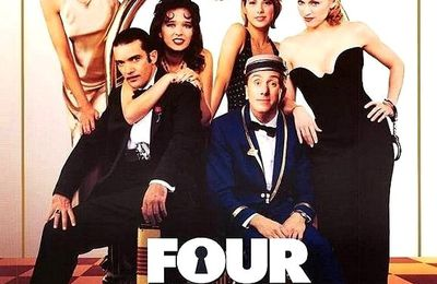 FOUR ROOMS - MOVIE BY ALLISON ANDERS, ALEXANDRE ROCKWELL, ROBERT RODRIGUEZ, QUENTIN TARANTINO - 1995 - FREE VIDEO STREAMING TORRENT - WATCH 4 ROOMS IN ENGLISH, FOR FREE AND IN FULL LENGTH