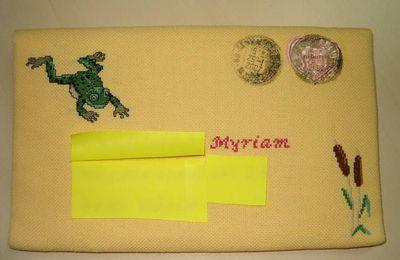 enveloppe reçue de Delphine pour le mois de janvier