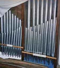 L'harmonisation de l'orgue de l'église de Claye est en cours