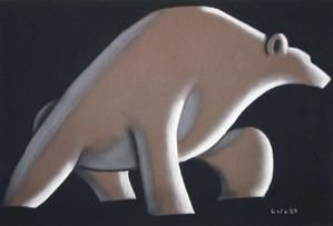 L'ours mal leche