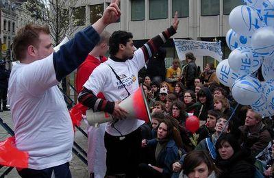 Manifestation pour le refinancement de l'enseignement