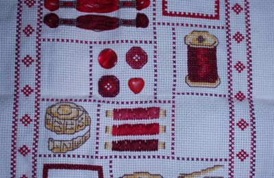 SAL Sewing Sampler Fin