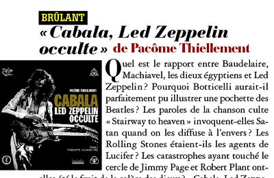 LED ZEPPELIN OCCULTE, Marie Claire, V-10