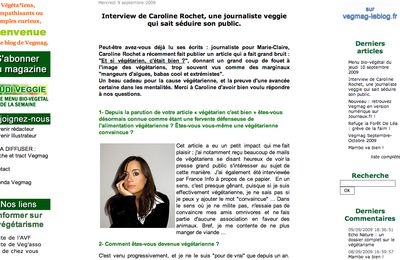 INTERVIEW VEGMAG, IX-09