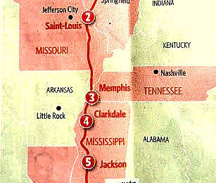 La route du Blues n°5 Clarksdale et le Delta Blues