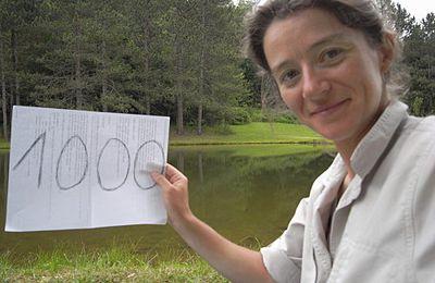 Anne-Marie Michel : déjà 1 000 km !
