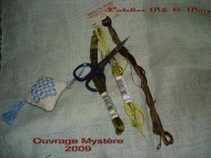 Ouvrage mystère 2009 - première partie