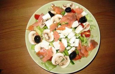 La salade qui rassasie