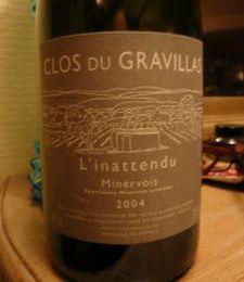 MINERVOIS - Clos du Gravillas - L'inattendu 2004