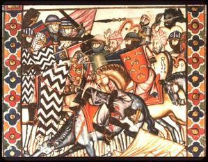Bataille d'Hattin le 4 juillet 1187 : Armée des Etats latins d'Orient
