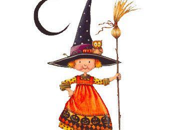 ABCdaire de sorcière brodé par Mary