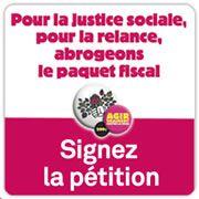Abrogation du paquet fiscal, Signons la pétition!