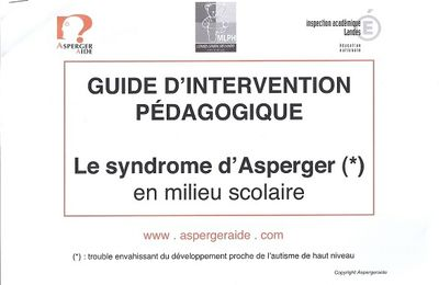 Asperger, guide d'intervention pédagogique ...