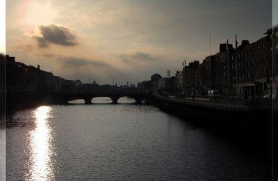 Liffey river - Dublin - Eire