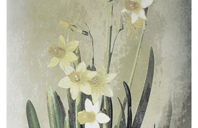 """ Daffodils, Art - Jonquilles "" Lore M's painting"
