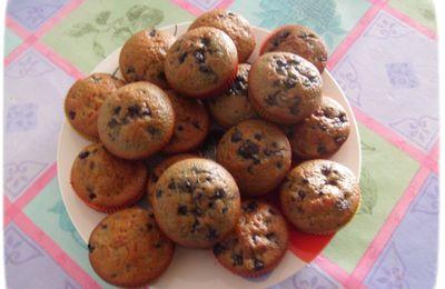 Recette de muffins aux myrtilles