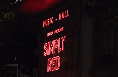 J'en suis Simply Red dingue !!!