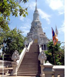 Oudong : Ancienne capitale du Cambodge