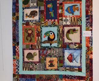 L'exposition de patchwork organisée à Marcq en Baroeul