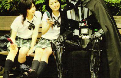 au un portable Japonais par KDDI à la sauce Star Wars
